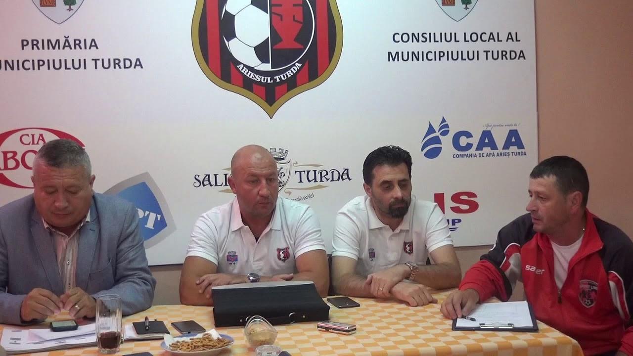 Conferință de presă - Sticla Arieșul Turda (09.07.2018)