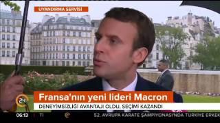 Fransa'nın yeni cumhurbaşkanı Macron, kimdir?