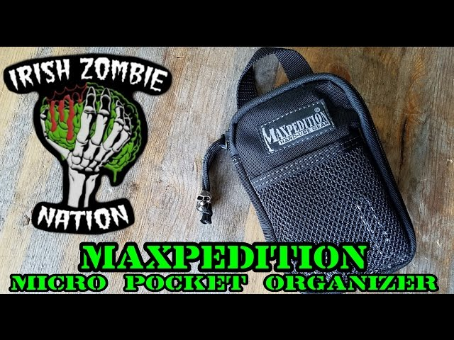 Maxpedition Micro Pocket Organizer for EDC (Everyday Carry)