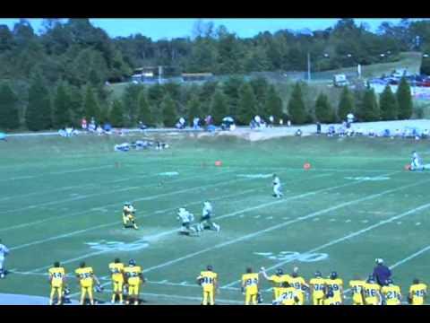 Averett Trick Play vs Greensboro