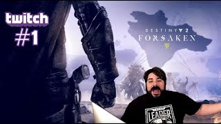 Game Rating Review Weekly TWITCH Stream: Destiny 2 Forsaken #1 with Nick & David (11/14/8)