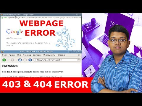 403 FORBIDDEN ERROR AND 404 ERROR EXPLAIN IN HINDI