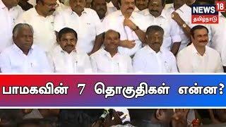 பாமகவின் 7 தொகுதிகள் என்ன? | பாமக ராமதாஸ் | News 18 Tamilnadu