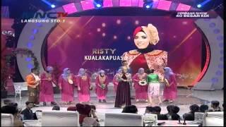 "Risti "" Cintai Aku Karena Allah "" Kuala Kapuas - Gerbang Show (21/4)"
