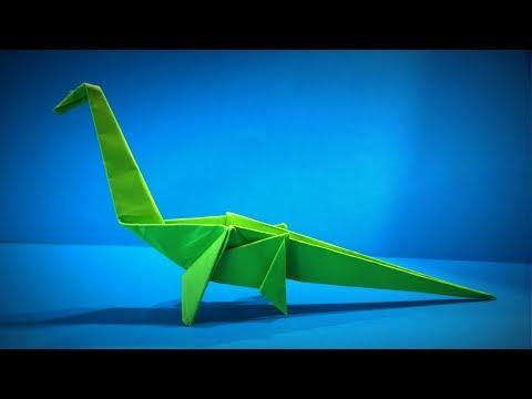 Origami Dinosaur | How to Make a Paper Dinosaur Brachiosaurus DIY | Easy Origami ART | Paper Crafts
