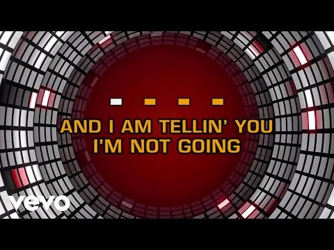 Dreamgirls - And I Am Telling You I'm Not Going (Karaoke)