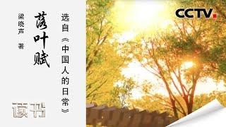 《读书》 20191101 梁晓声 《中国人的日常》 落叶赋| CCTV科教