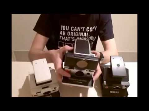 An Intro to the SLR type Polaroid SX 70 Cameras by The Instant Camera Guy x FilmNeverDie