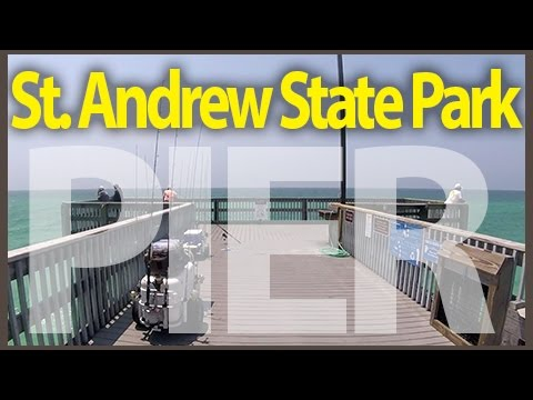[Pier Info #01] St.Andrews State Park Pier