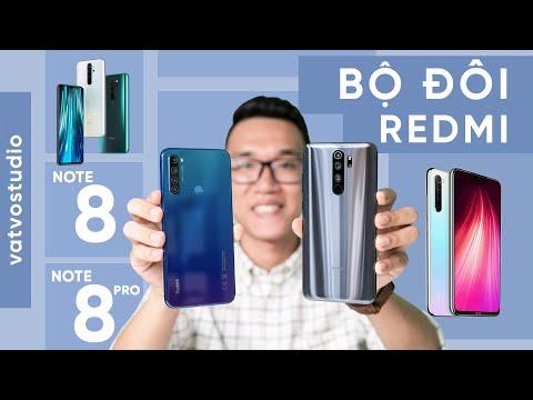 Bộ đôi Redmi Note 8|8 Pro chính hãng: GIÁ CỰC TỐT