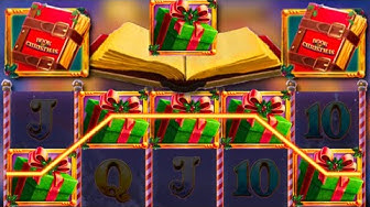 x285 win / Book of Christmas free spins compilation! #2