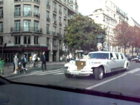 Magnifique limousine a paris avenue Hoche