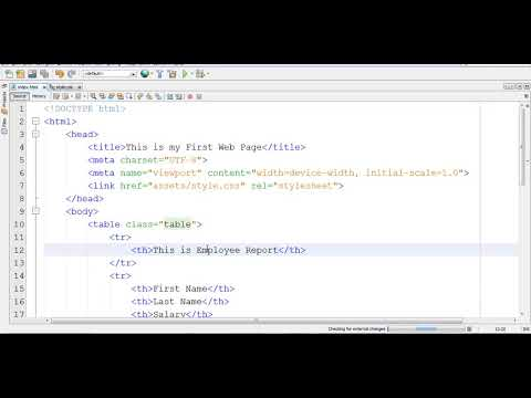 Row Span Col Span In Html, Learn Html Step By Step