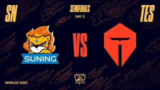 Game TV Schweiz - SN vs TES | Semifinal Game 1 | World Championship | Suning vs. Top Esports (2020)