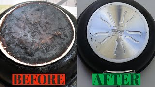 Clean The Bottom of Your Pots or Pans  WORKS EVERY SINGLE TIME