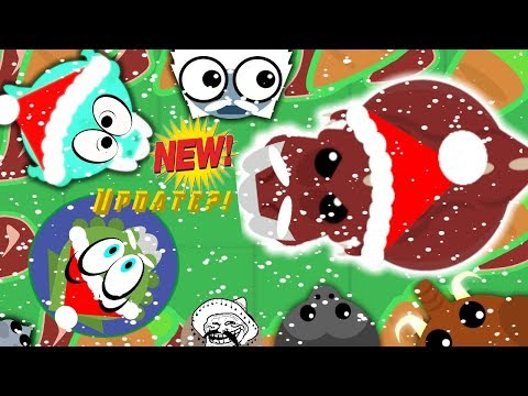 Download Youtube: Mope.io NEW CHRISTMAS UPDATE??!! Santa T-rex//Trolling funny moments!