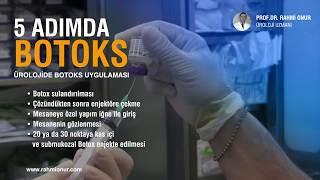 Mesane Botoks Uygulaması - Prof. Dr. Rahmi Onur