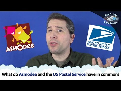 What do Asmodee and the US Postal Service have in common?