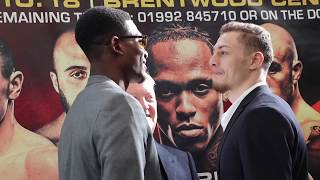 UMAR SADIQ & ZAK CHELLI FACE-OFF MINUTES AFTER WAR OF WORDS @ PRESS CONFERENCE