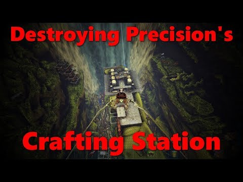 Ark Official PvP | YSS | Blowing Up Precision's Crafting Station