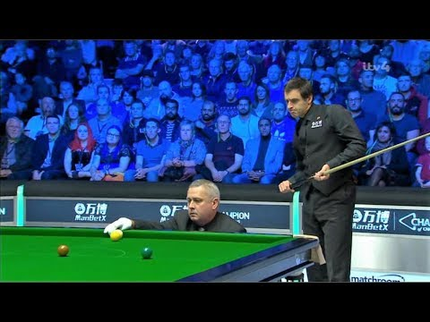 O'Sullivan v Wilson Final F10 2018 Champion of Champions