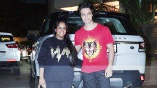 Salman Khan's SISTER Arpita Khan & Aayush Sharma Spotted At Kk House Party