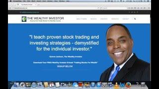 Trading Stocks Made Easy  Podcast TSME EP# 9