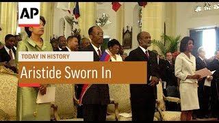 Gambar cover Jean-Bertrand Aristide Sworn In - 1991 | Today In History | 7 Feb 18