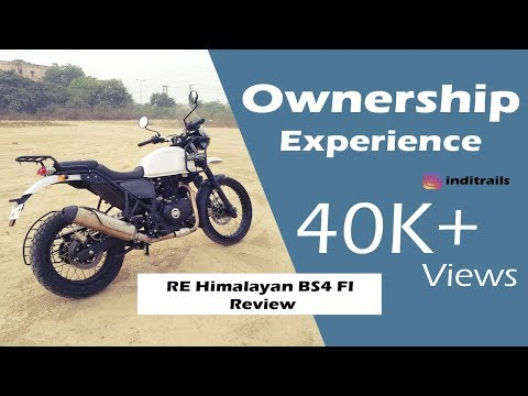RE Himalayan BS4 FI  Review - Ownership Experience