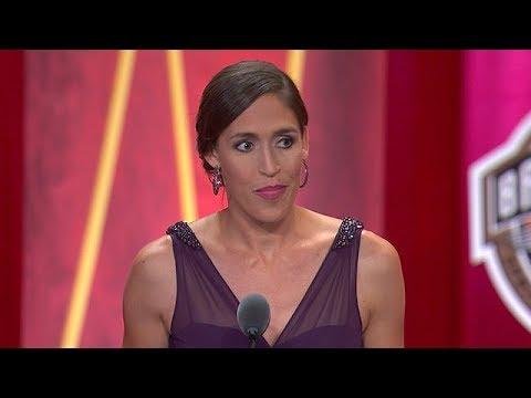 Rebecca Lobo's Basketball Hall of Fame Enshrinement Speech