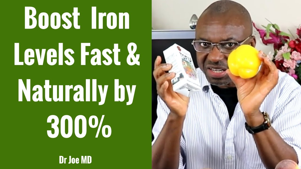 How To Boost Iron Levels Fast & Naturally by 300% (3X Increase Iron Levels Quickly)