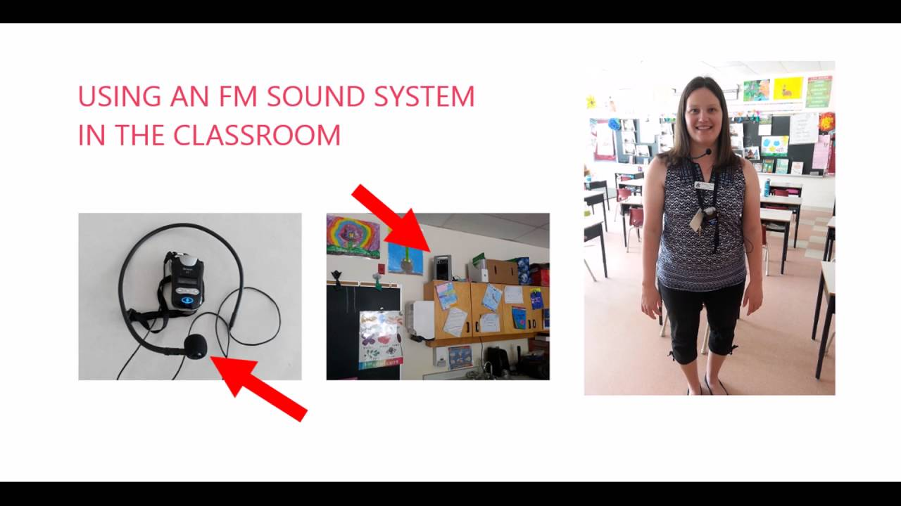 Image result for fm system in classroom
