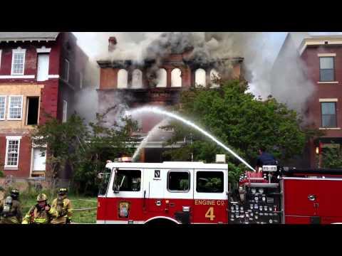 Girard St Fire
