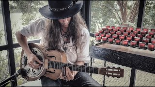I'M SO LONESOME I COULD CRY | Classic Country Fingerstyle Slide Guitar | Hank Williams Sr. Cover