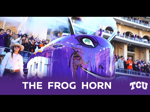TCU's Frog Horn: A Nissan Fan-Fueled Tradition