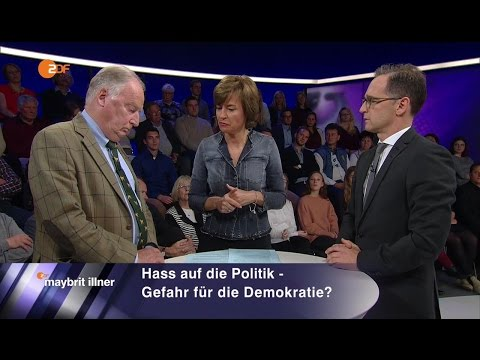 Das Duell: Heiko Maas SPD vs. Alexander Gauland AfD 06.10.2016 Maybrit Illner - Bananenrepublik
