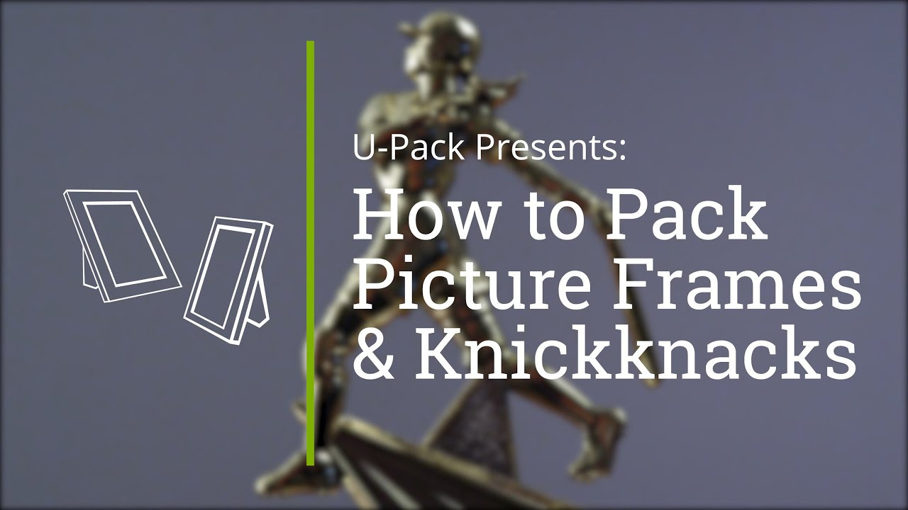 How to Pack Picture Frames and Knickknacks - YouTube