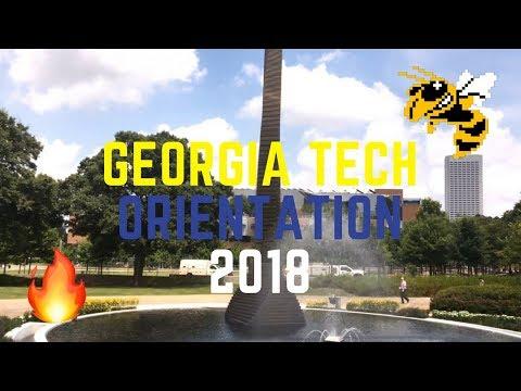 GEORGIA TECH ORIENTATION (FASET) 2018 // SILENT DISCO DANCE PARTY