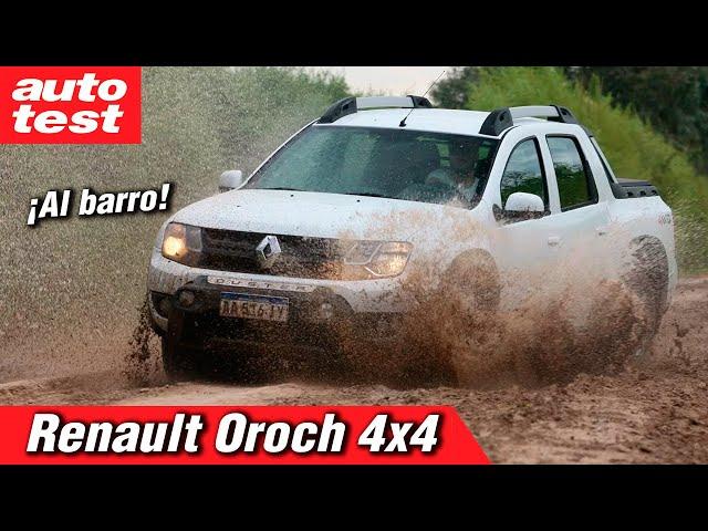 Prueba: Renault Duster Oroch 4x4