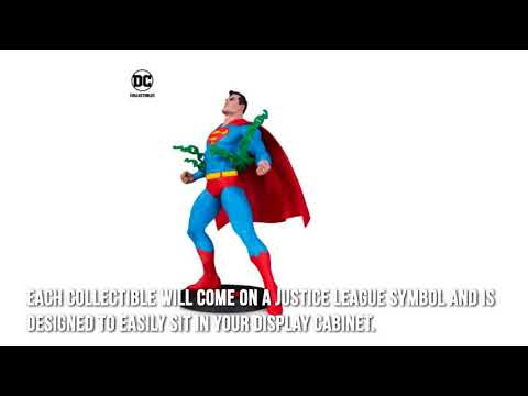 DC Justice League Collectible Statues Review
