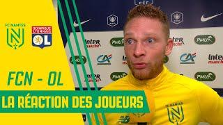 VIDEO: FC Nantes - OL : la réaction des joueurs