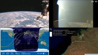 Morning Indonesia And Australia - NASA/ESA ISS LIVE Space Station With Map - 569 - 2019-03-17
