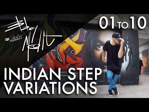 Breakdance Toprock tutorial • 10/100 Indian Step Variations