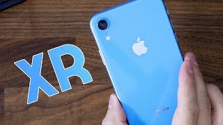 Blue iPhone XR Unboxing & First Impressions!