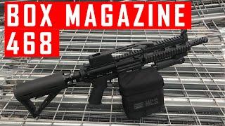 468 Shooting Demo with Box Magazine