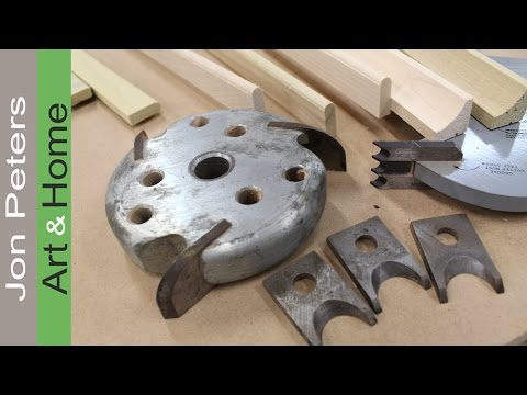 How To Make Molding With A Table Saw Amp I M In A Tv
