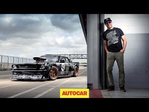 How to drift*, by Ken Block – shredding tyres in the 845bhp Hoonicorn Mustang