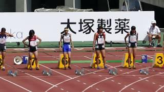 20140819香川全中女子100m予選10組