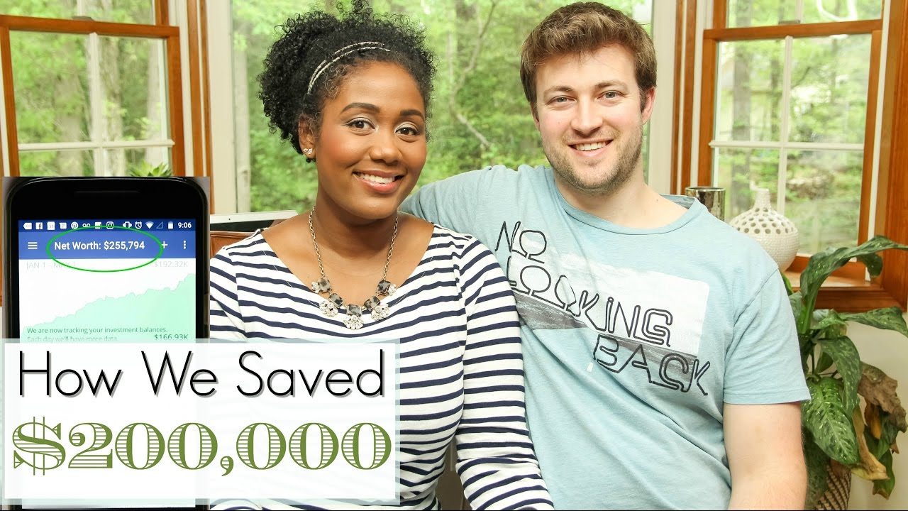 5b4bd6ee How to Save Money | How We Saved $200k - YouTube