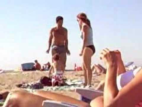 European People At The Beach Littleblondie397
